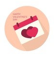 Happy Valentines day collection icon vector image vector image