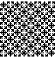 cross tiles pattern vector image