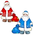 Russian Santa Claus - Grandfather Frost vector image vector image