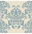 Vintage Rococo Floral ornament pattern vector image
