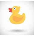 Duck icon vector image