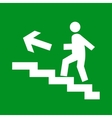 Exit sign vector image