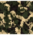 Hexagonal camouflage digital hexagon camo vector image