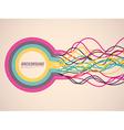 Abstract ribbons vector image