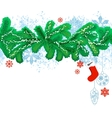 seamless christmas design element vector image