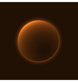 Planet sign space vector image