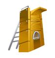 icon diving board vector image vector image