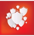 Shield protection icon vector image