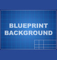 blueprint background technical design paper vector image