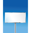 Sign with sky background vector image vector image