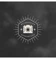 Photographer Logo Template Design Element vector image