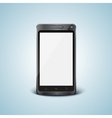 cellphone with blank screen vector image vector image