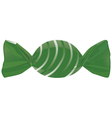 green candy vector image