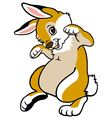 Childish bunny Vector Image