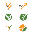 Healthy Logo Template vector image
