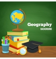 Geography backdrop vector