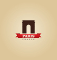 Paris France city symbol vector image