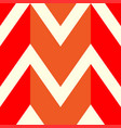the pattern in which the red orange and white vector image