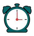 alarm time clock icon vector image