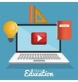distance education study creativity education vector image
