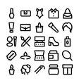 Fashion Icons 5 vector image