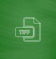 TIFF computer symbol vector image