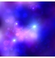 Dark blue cosmic background vector image