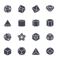 Geometric Shapes Icon vector image vector image