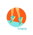 Sports and healthy lifestyle concept Image can be vector image