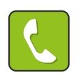 phone telephone app isolated icon vector image