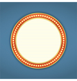 Round Retro Banner vector image vector image
