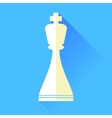 King Chess Icon vector image