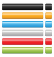 blank button vector image
