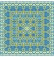 Handkerchief with delicate ornaments vector image