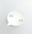 Quotation Marks vector image