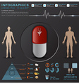 Health And Medical Infographic Infocharts vector image