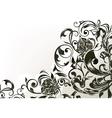 Black decor vector image