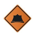 construction helmet icon sign vector image