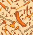 tools on a white background seamless pattern vector image