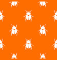 scarab pattern seamless vector image
