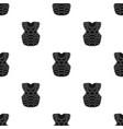 vest baseball baseball single icon in black style vector image
