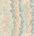 vintage fabric seamless patten with grunge effect vector image