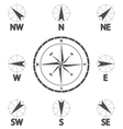 Wind direction vector image