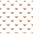 monarch butterfly pattern seamless vector image