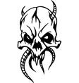 skull - halloween set - vector image vector image