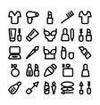 Fashion Icons 8 vector image