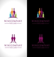 Wine Logo Design vector image