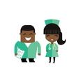 doctors vector image