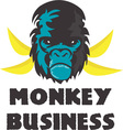 Monkey Business vector image