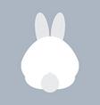 Rabbit Bottom vector image